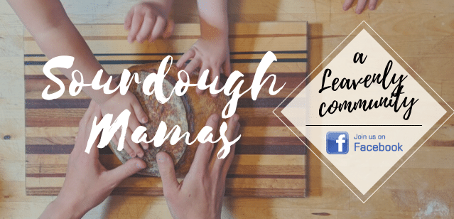 Join our Community of Sourdough Mamas on Facebook